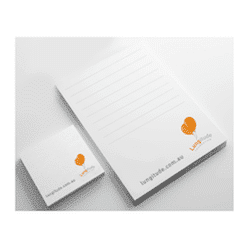 Lungitude Sticky Notes and Notepad Set