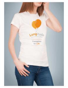 lungitude T Shirt Model